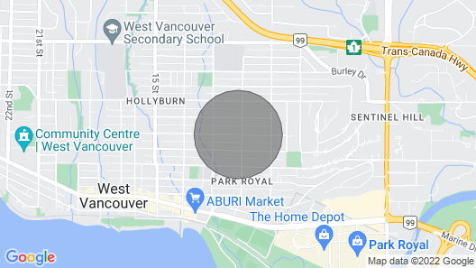 Newly Renovated One Bedroom Studio in West Vancouver Perfect For Quarantine! Map