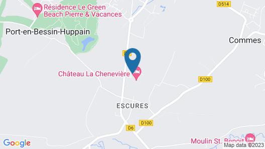 Château La Chenevière Map