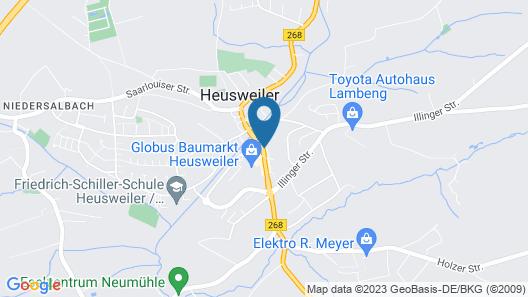 Hotel L'adresse Map