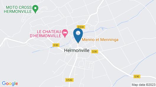 La Grange en Champagne Map