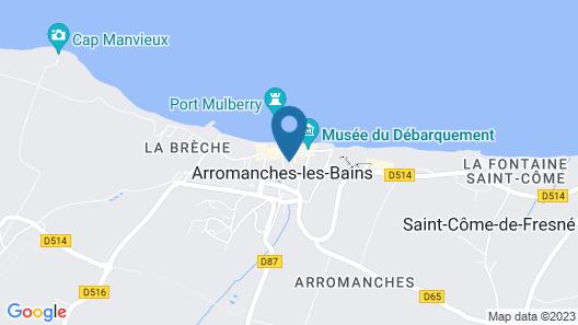 DDAY Aviators Le Manoir Map