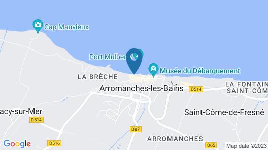 Hôtel De La Marine Map