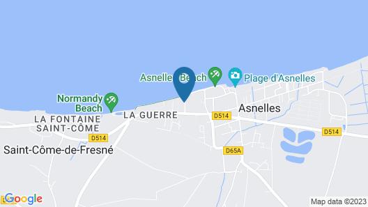 Hôtel Club Les Tourelles Map
