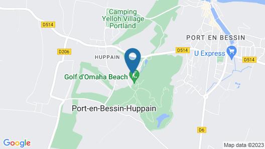 Mercure Bayeux Omaha Beach Map