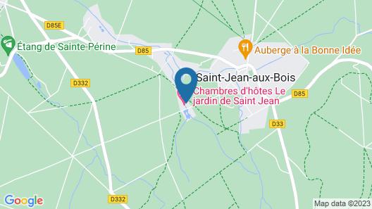 Le jardin de Saint Jean Map