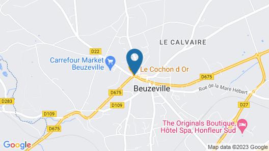Auberge du Cochon d'Or Map