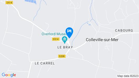 Domaine de l'Hostréière Map