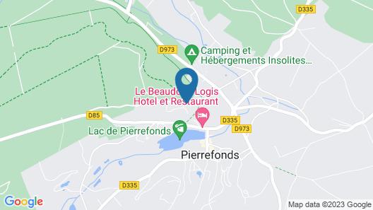Les Hauts de Pierrefonds Map