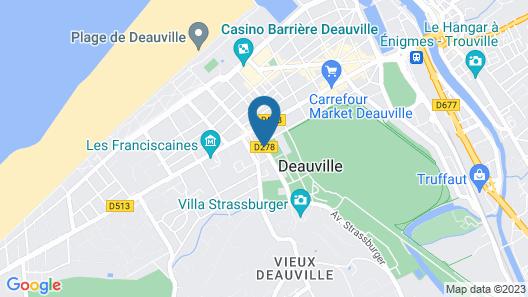 L'Augeval Map