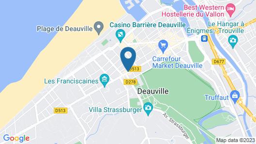 Hôtel Le Patio Map