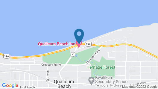 Qualicum Beach Inn Map