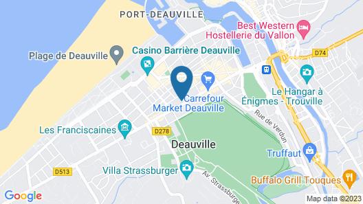 Villa Odette Map