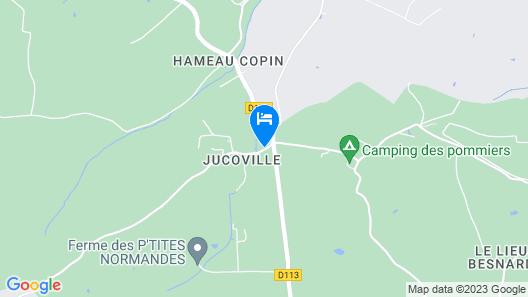 Ferme de Savigny Map