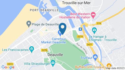 Hotel Almoria Map