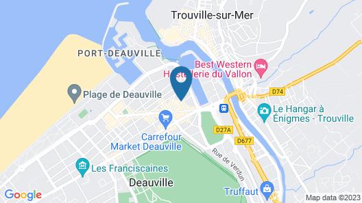 Mercure Deauville Centre Map