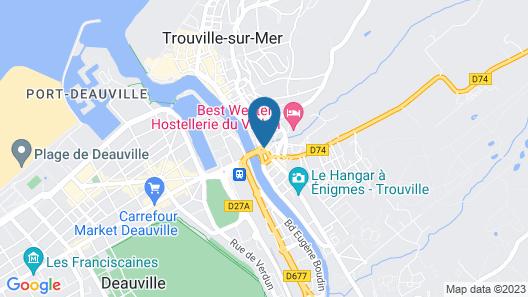 Hôtel L'ESTRAN Map
