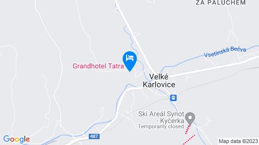Grandhotel Tatra Map