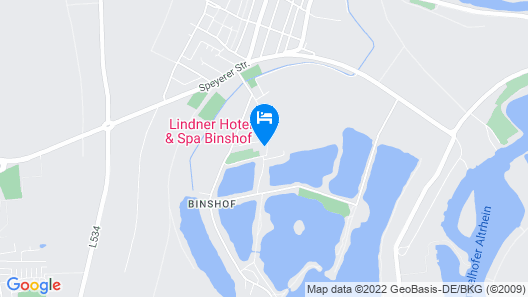 Lindner Hotel & Spa Binshof Map