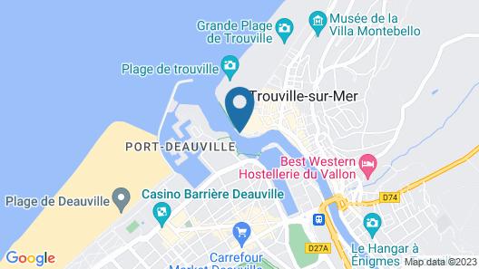 SOWELL HÔTELS Le Beach Map