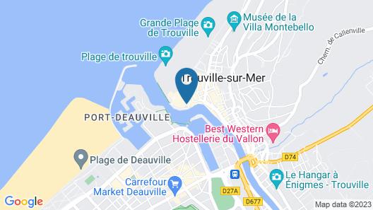 SOWELL RÉSIDENCES Le Port Map