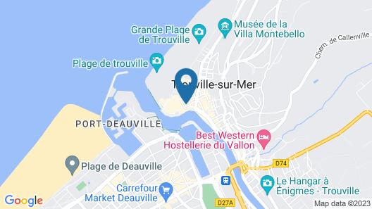 Mercure Trouville-sur-mer Map