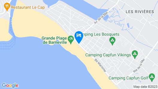 Hôtel Restaurant des Isles Map