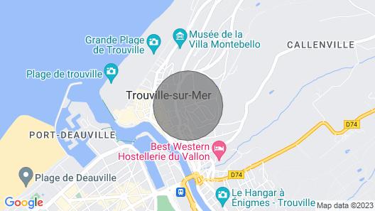 Villa Sophie Trouville-sur-mer Map