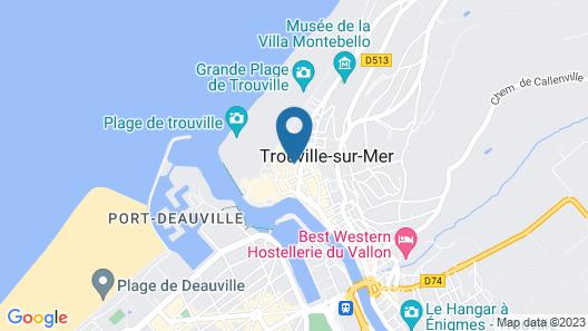 Hôtel Les 2 Villas Map