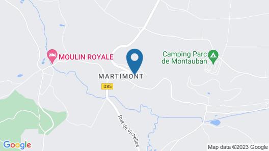 Le Clos des Marronniers - Relais de Chasse Map