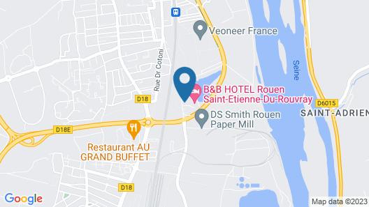 The Originals Access, Hôtel Rouen Sud Oissel (P'tit Dej-Hotel) Map