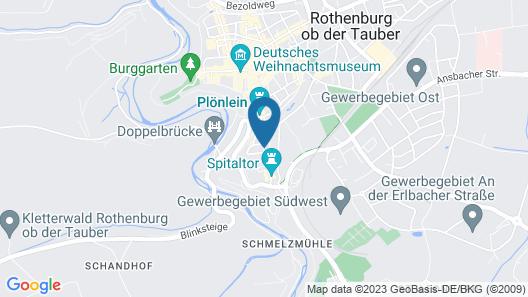 Hotel Gerberhaus Map