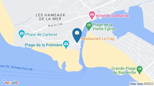 Hôtel Restaurant Le Cap  Map