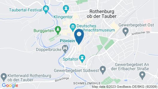Glocke Weingut und Hotel Map