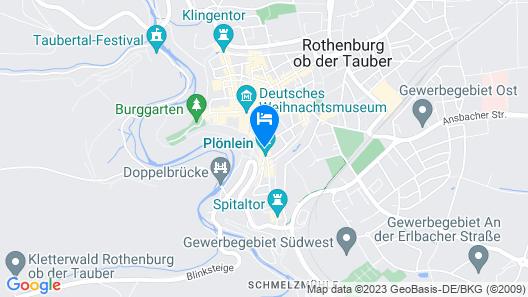 Hotel Goldener Hirsch Map