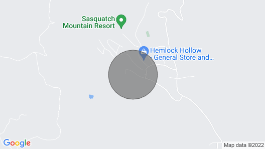 Sasquatch Mountain - Entire Log Cabin - Private Map