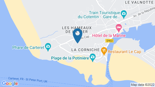 Comfortable Accommodation Combining Calm sea View Map