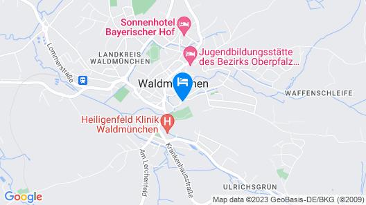Wellnesshaus Waldmunchen Map