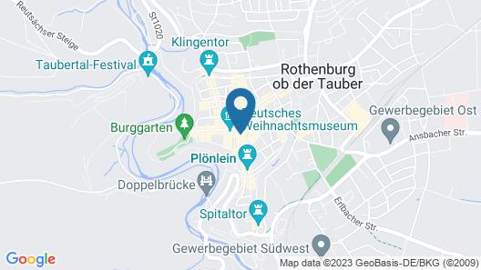 Hotel-Gasthof Goldener Greifen Map