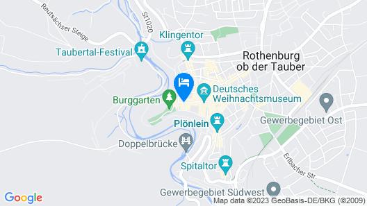 Hotel BurgGartenpalais Map