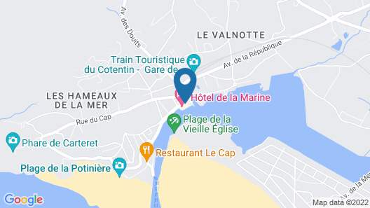 Hôtel-Restaurant La Marine Map
