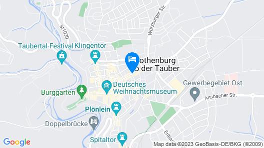 Hocher Hotel & Café Map