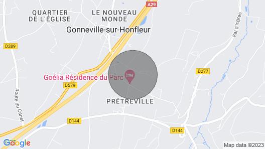 The Apartment of the Château de Prêtreville Map