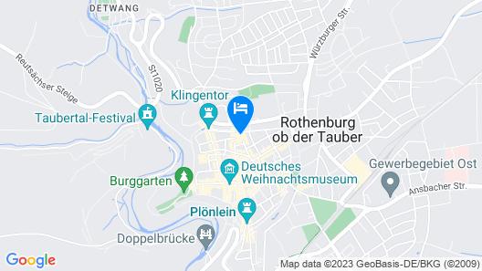 AKZENT Hotel Schranne Map