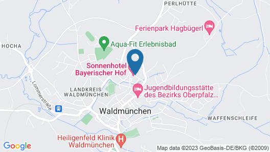 Sonnenhotel Bayerischer Hof Map