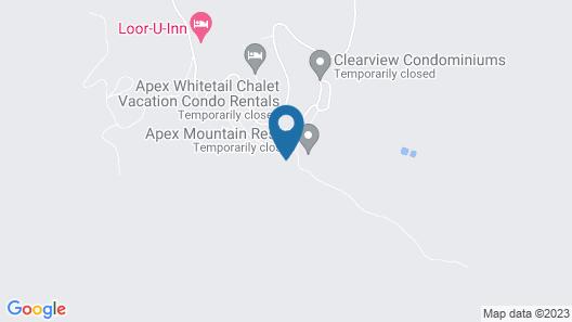 Apex Mountain Inn 2 Bdrm Suite 321-322 1 Bedroom Condo Map