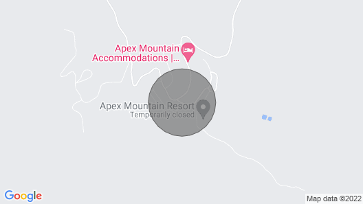 Apex Mountain Renovated one Bedroom Condo With Mountain View Map