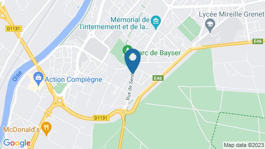 Hostellerie Du Royal Lieu Map
