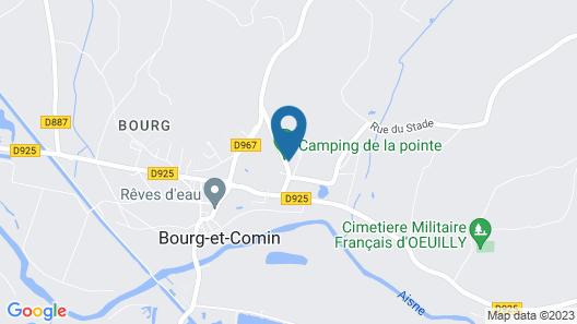 Camping de La Pointe Map