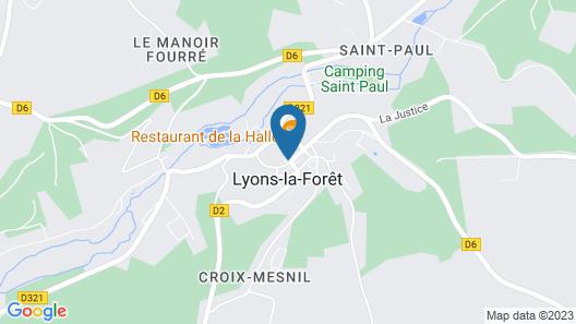 Hôtel Le Grand Cerf & Spa Nuxe Map