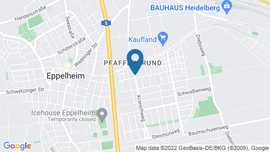 Wohlfühl-Hotel Neu Heidelberg Map